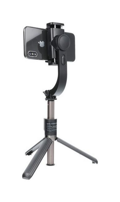 Selfie tyč se stabilizátorem Gimbal SSTR-L08 černá