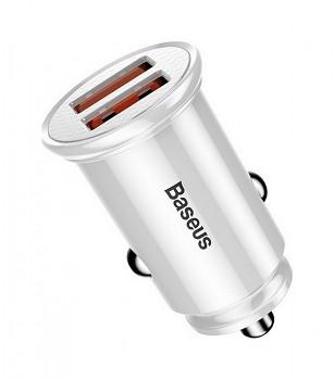 Rychlonabíječka do auta Baseus Circular 30W včetně USB-C datového kabelu 1