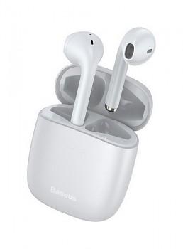 Bezdrátová sluchátka Baseus Encok W04 bílá (1)
