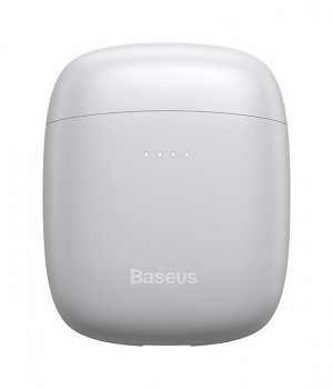 Bezdrátová sluchátka Baseus Encok W04 bílá (2)