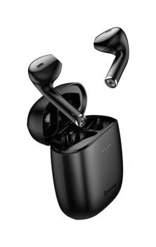 Bezdrátová sluchátka Baseus Encok W04 Pro černá (4)