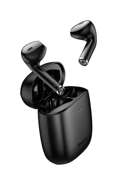 Bezdrátová sluchátka Baseus Encok W04 černá (1)