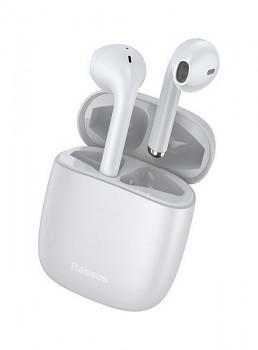 Bezdrátová sluchátka Baseus Encok W04 Pro bílá (1)