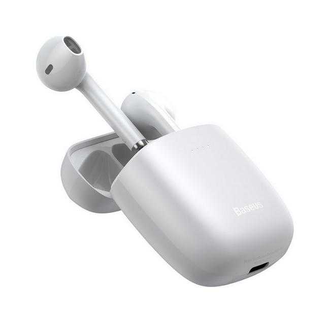 Bezdrátová sluchátka Baseus Encok W04 Pro bílá (2)