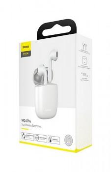Bezdrátová sluchátka Baseus Encok W04 Pro bílá (4)