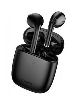 Bezdrátová sluchátka Baseus Encok W04 Pro černá (1)