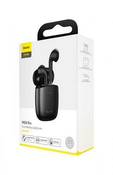 Bezdrátová sluchátka Baseus Encok W04 Pro černá (5)