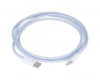Datový kabel Super Flash Charge USB-C - Lightning 1 m bílý 5A (2)