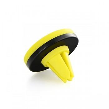 Magnetický držák na větrací mřížku Remax RM-C10 žluto-černý
