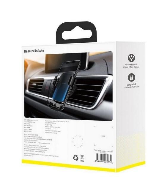 Držák na mobil do auta značky Baseus Glaze Gravity SUYL-LG01 Blister