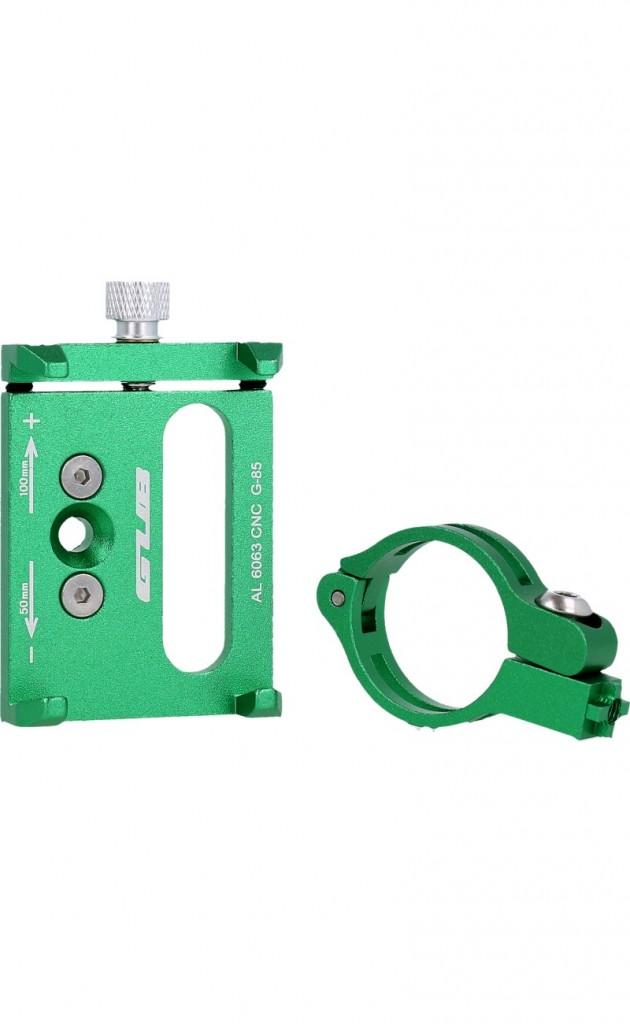 Držák na mobil na kolo GUB G-85 zelený