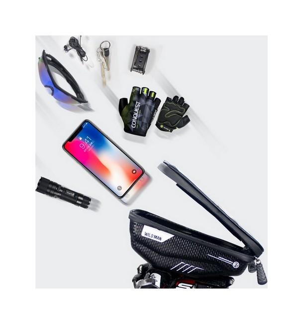 Vodotěsné pouzdro WildMan E1 pro mobilní telefon na řídítka kola