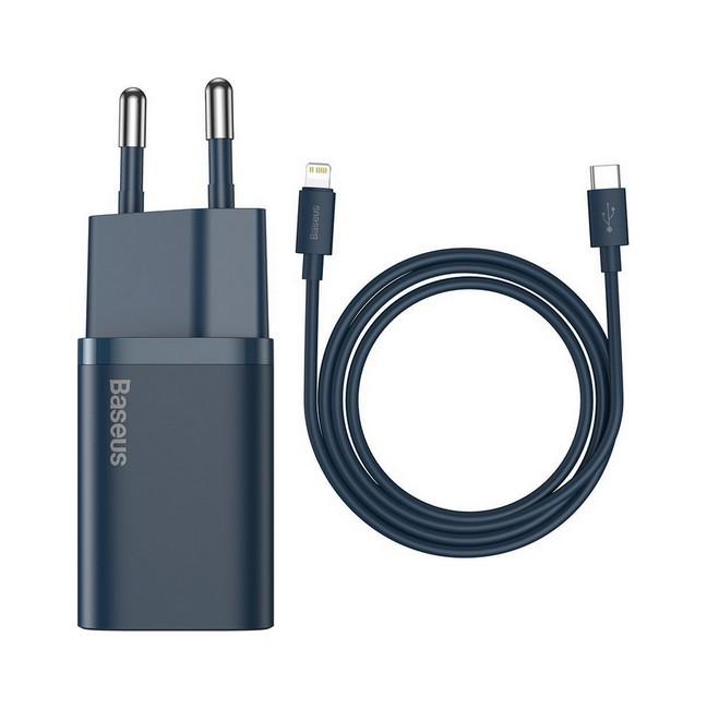 Rychlonabíječka Baseus Super Si 20W pro iPhony včetně datového kabelu