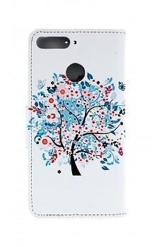 Knížkové pouzdro na Huawei Y6 Prime 2018 strom života