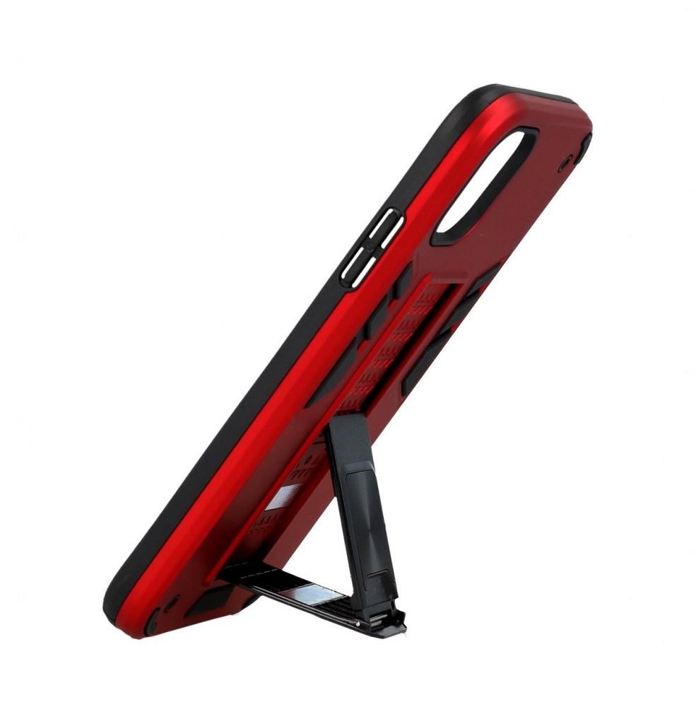 Ultra odolný zadní kryt Armor na iPhone 12 červený