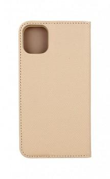 Knížkové pouzdro Smart Magnet na iPhone 12 zlaté