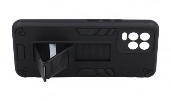 Ultra odolný zadní kryt Armor na Realme 8 černý (2)