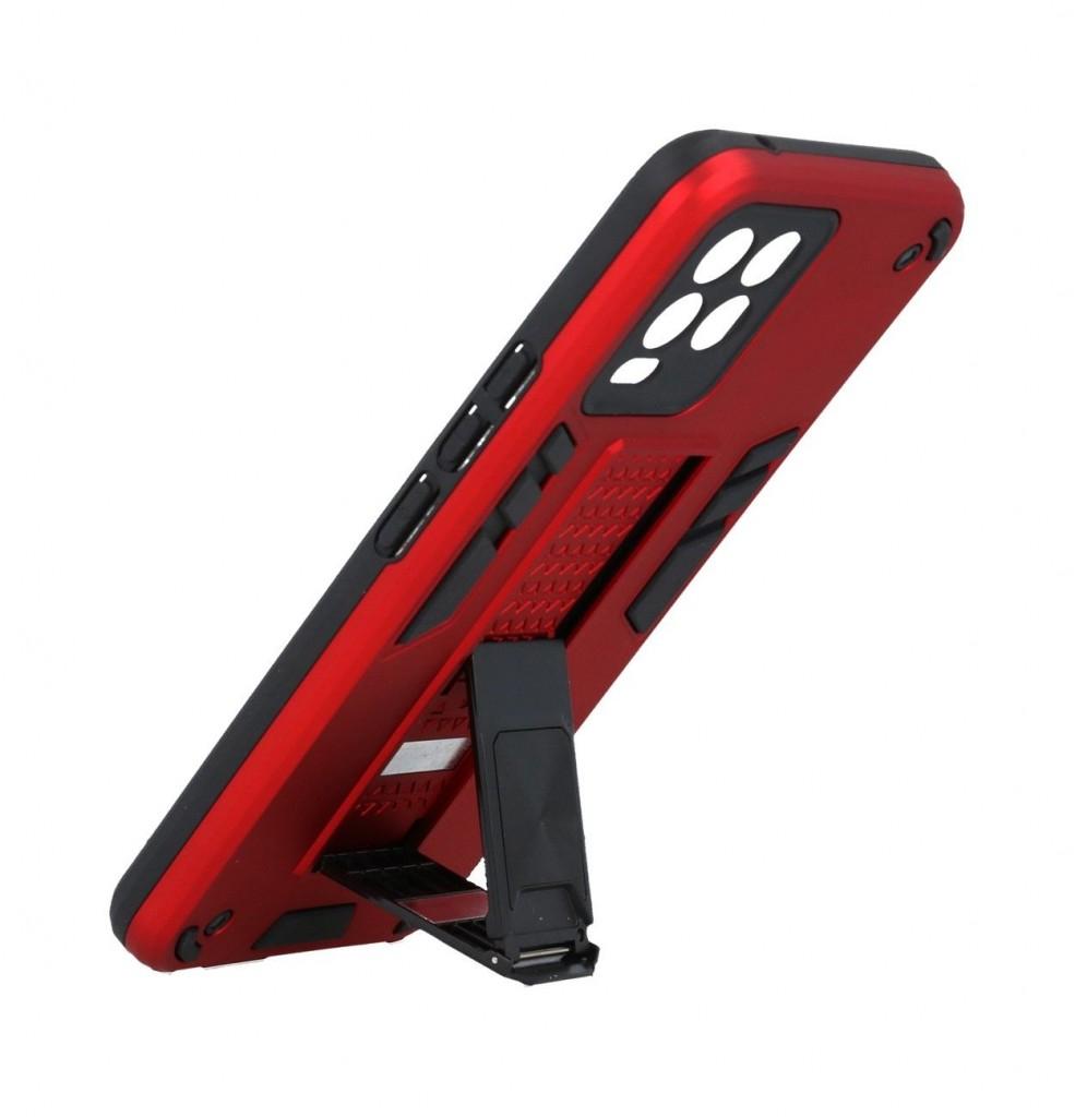 Ultra odolný zadní kryt Armor na Realme 8 červený