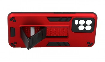 Ultra odolný zadní kryt Armor na Realme 8 červený (2)
