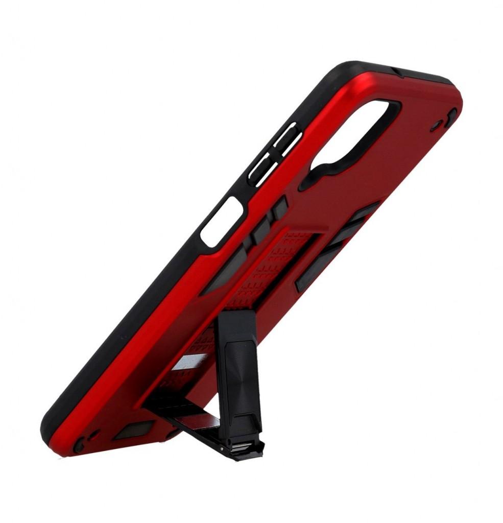 Ultra odolný zadní kryt Armor na Samsung A12 červený