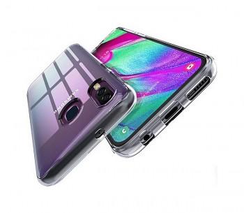 Ultratenký silikonový kryt na mobil Samsung A40