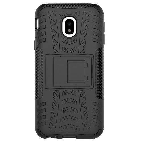 Zadní pouzdro neboli obal Samsung J3 2017 černý se stojánkem