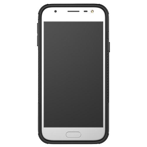 Zadní pouzdro neboli obal Samsung J3 2017 černý se stojánkem 2