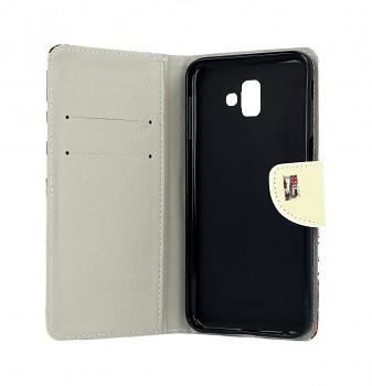 Knížkové pouzdro na Samsung J6+ Londýn (2)