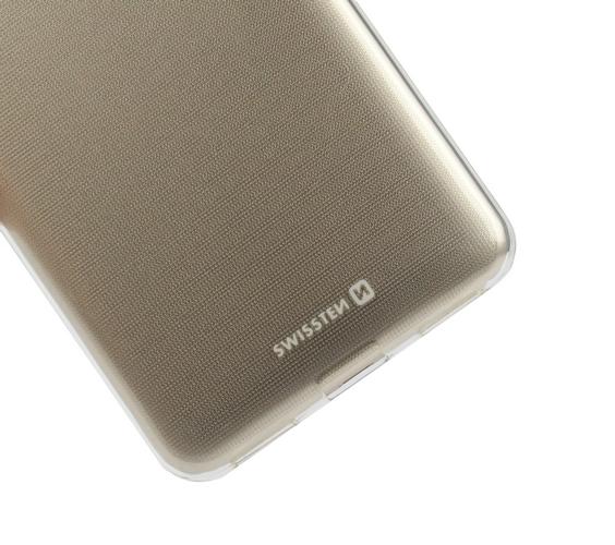 Zadní silikonový kryt Swissten Clear Jelly na iPhone 6 / 6s průhledný