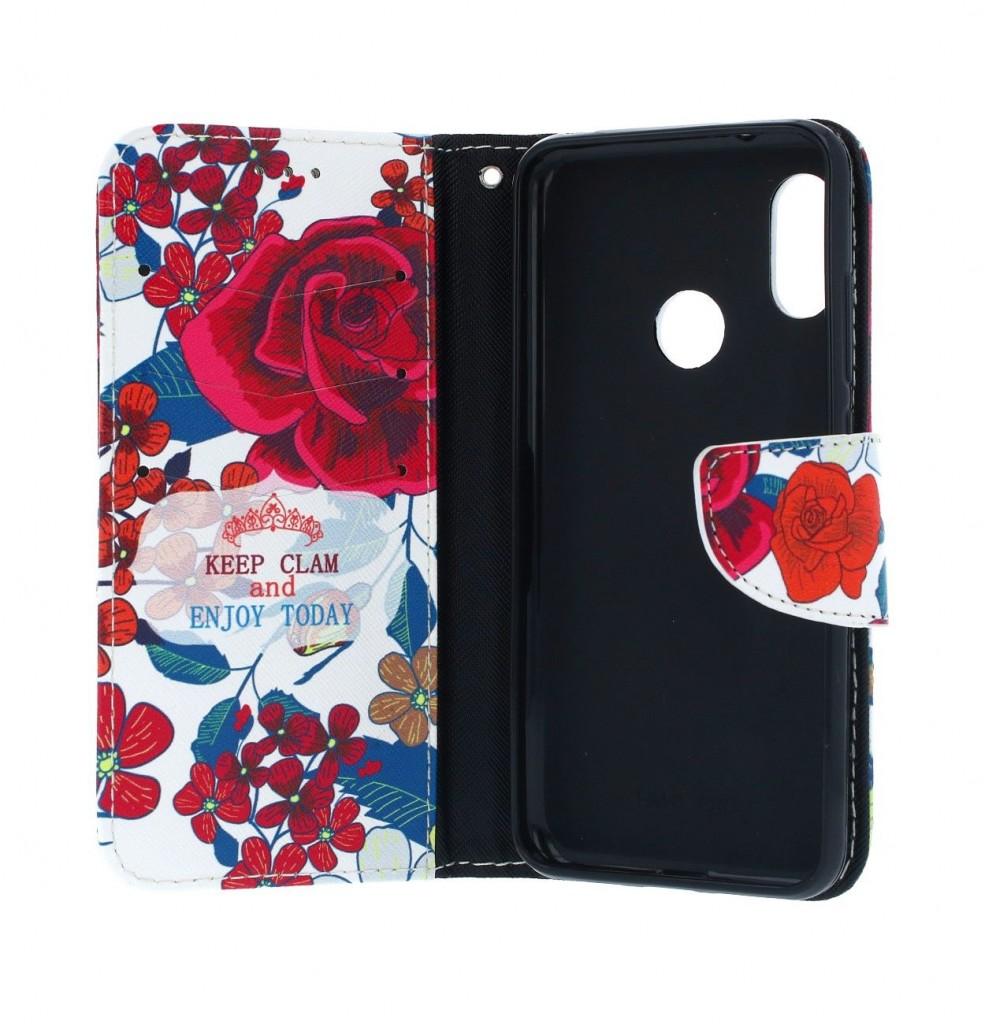 Knížkové pouzdro na Xiaomi Mi A2 Lite Roses (2)