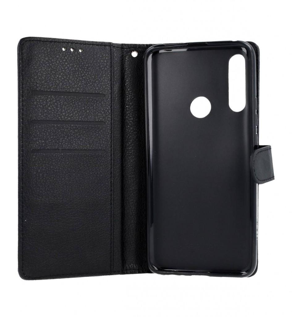 Knížkové pouzdro na Huawei P Smart Z černé s přezkou (2)