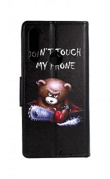 Knížkové pouzdro na Huawei P Smart Z Don't Touch méďa