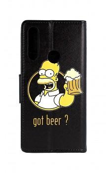 Knížkové pouzdro na Huawei P Smart Z Homer