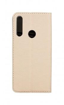 Knížkové pouzdro Smart Magnet na Huawei P Smart Z zlaté