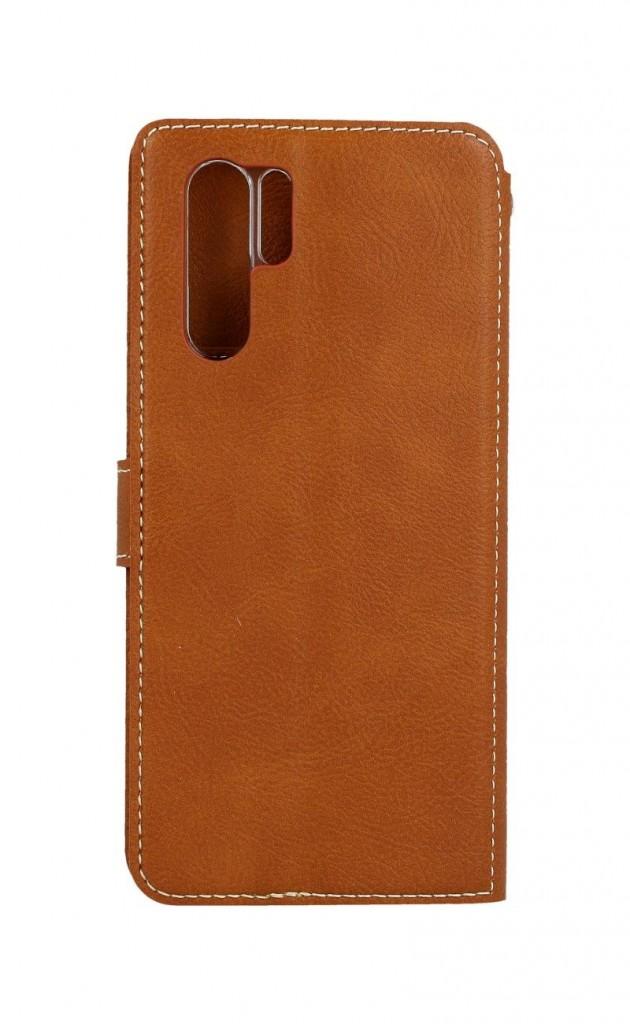 Knížkové pouzdro Molan Cano Issue Diary na Huawei P30 Pro hnědé