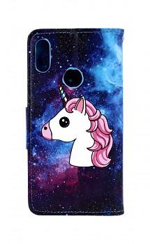 Knížkové pouzdro na Huawei Y7 2019 Space Unicorn