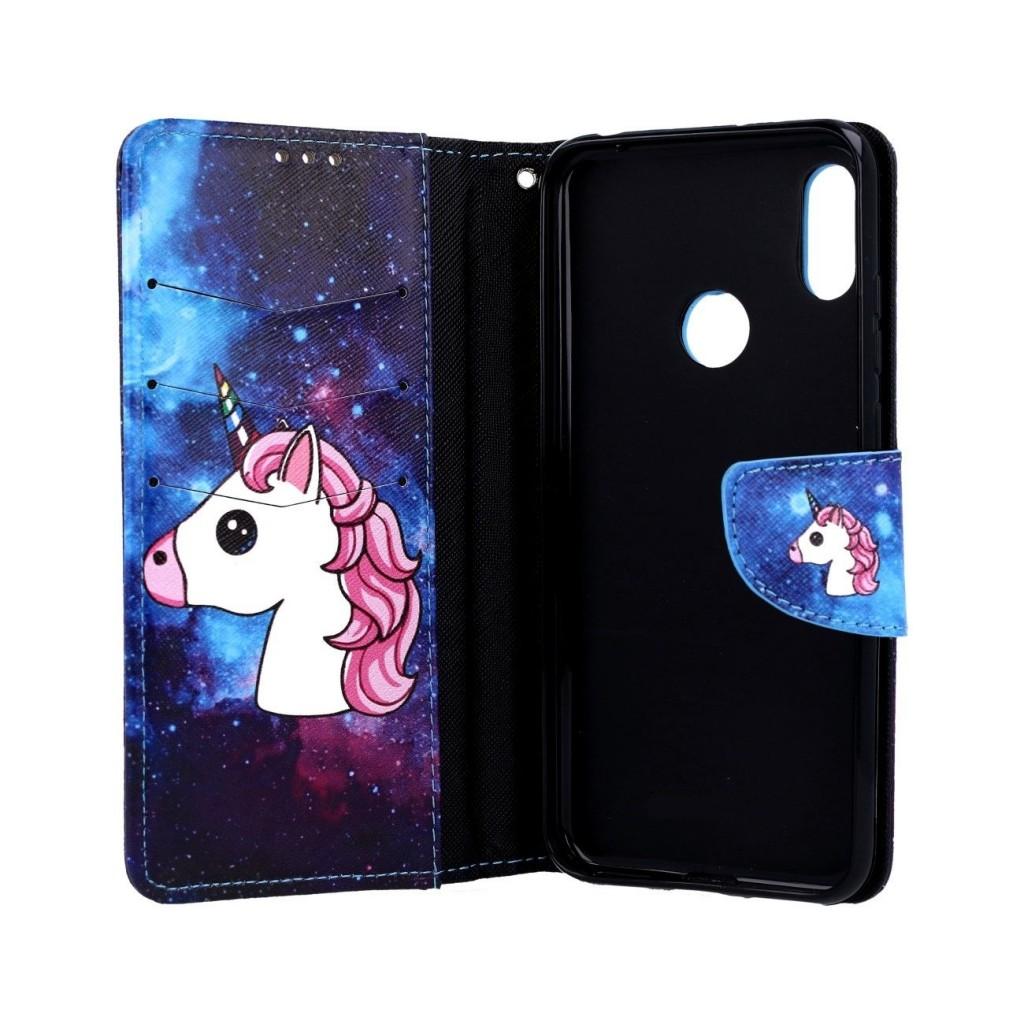 Knížkové pouzdro na Huawei Y7 2019 Space Unicorn (2)