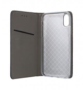 Knížkové pouzdro Smart Magnet na iPhone XS černé (2)
