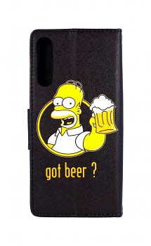 Knížkové pouzdro na Huawei P Smart Pro Homer