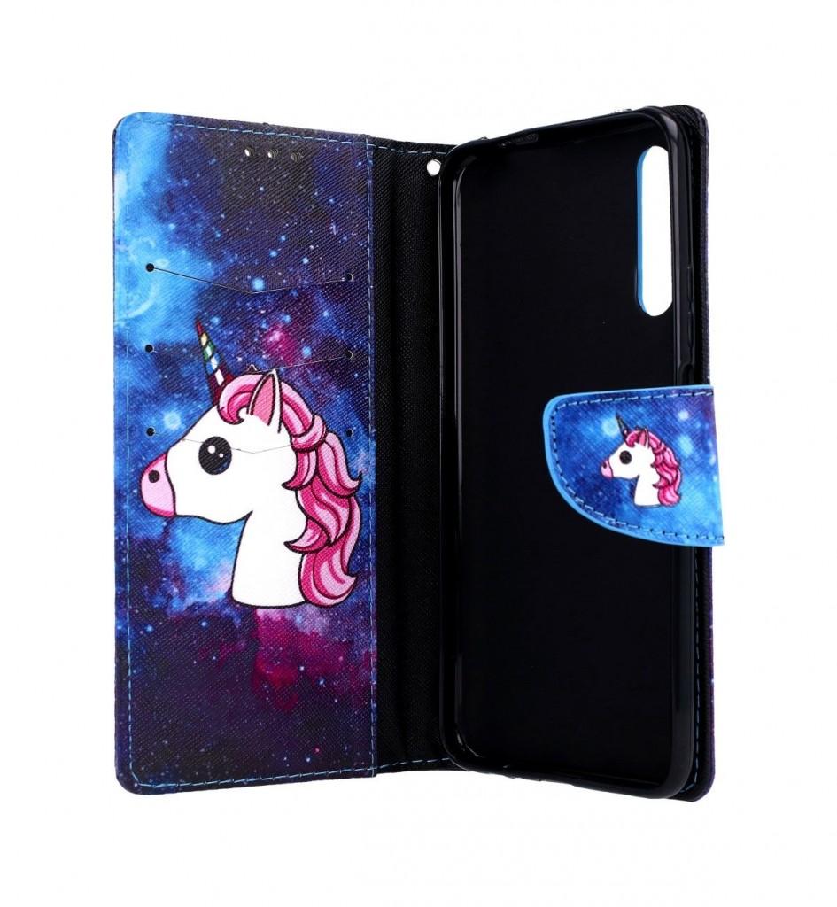 Knížkové pouzdro na Huawei P Smart Pro Space Unicorn (2)