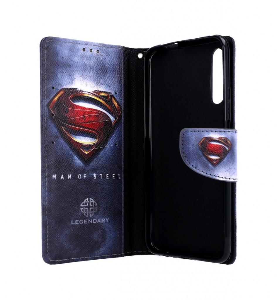 Knížkové pouzdro na Huawei P Smart Pro Superman 2 (2)
