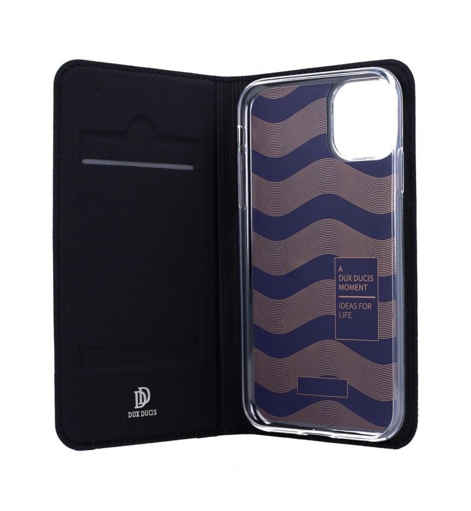 Knížkové pouzdro Dux Ducis na iPhone 11 černé (2)