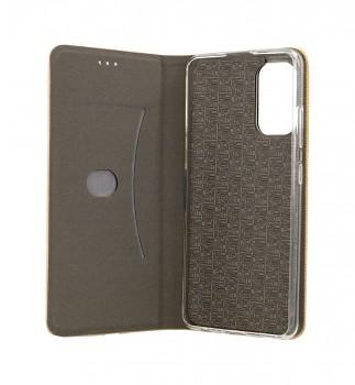 Knížkové pouzdro Sensitive Book na Samsung A32 zlaté (2)