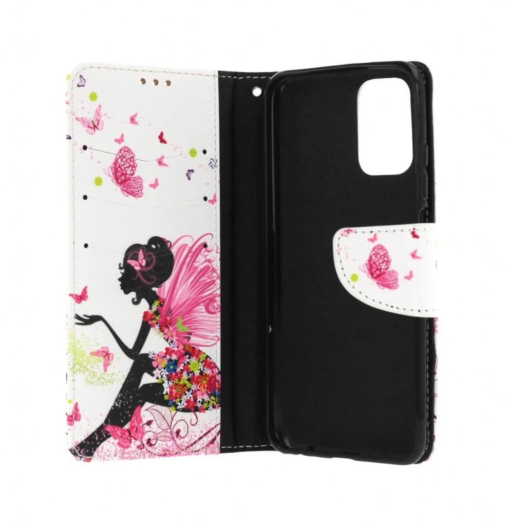 Knížkové pouzdro na Xiaomi Redmi Note 10 Zasněná dívka (2)