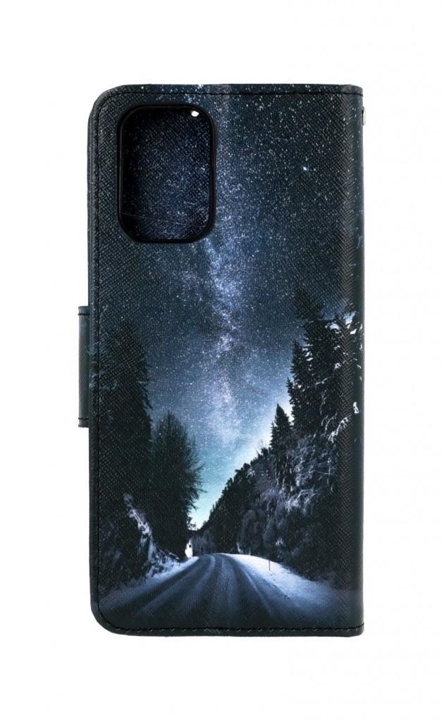Knížkové pouzdro na Xiaomi Redmi Note 10 Zimní cesta