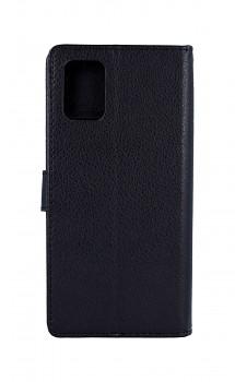 Knížkové pouzdro na Samsung A51 černé s přezkou