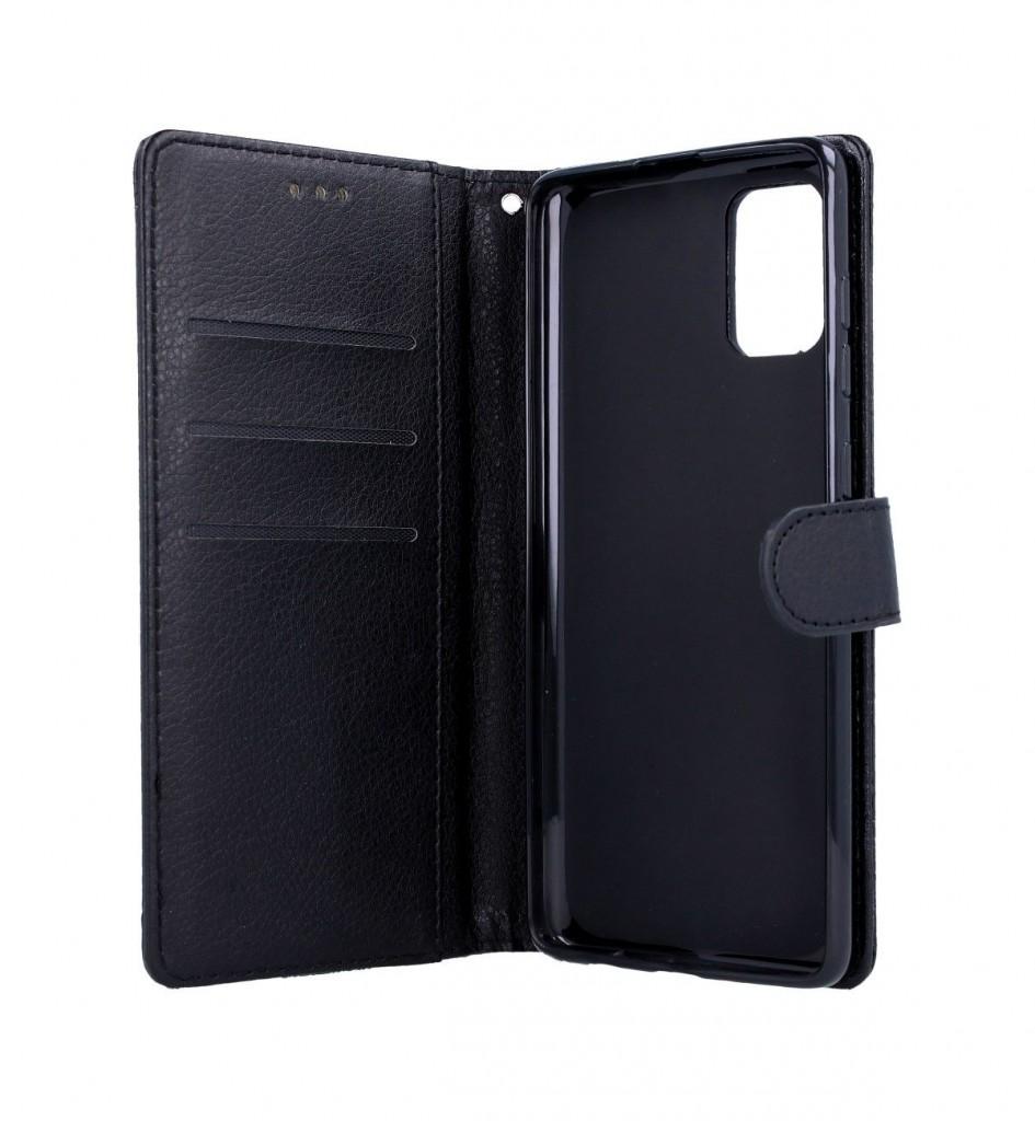 Knížkové pouzdro na Samsung A51 černé s přezkou (2)