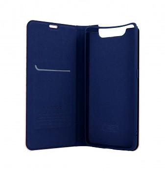 Knížkové pouzdro Luna Book na Samsung A80 modré (2)