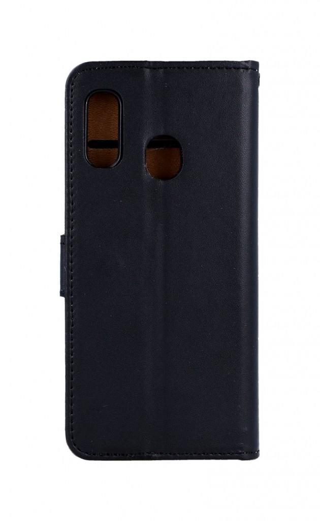 Knížkové pouzdro na Samsung A20e černé s přezkou 2
