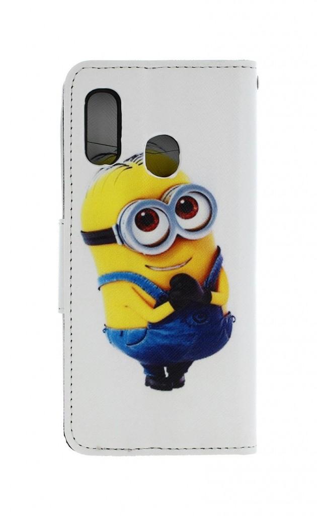 Knížkové pouzdro na Samsung A20e Minion